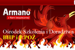 Armano – ośrodek szkolenia i doradztwa BHP i P.POŻ